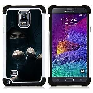 - Thief Rebel Hoodie - - Doble capa caja de la armadura Defender FOR Samsung Galaxy Note 4 SM-N910 N910 RetroCandy