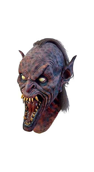 Morris Costumes máscara de demonio alado Top grado Componentes