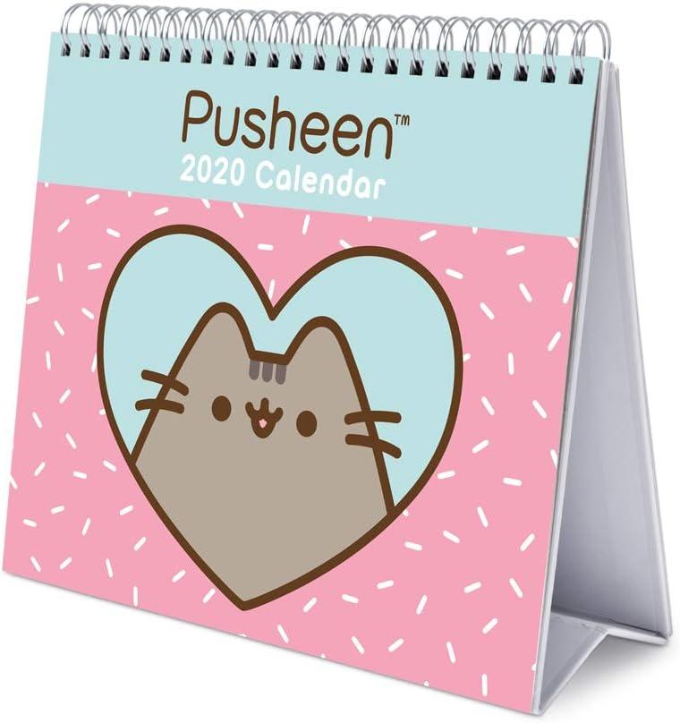 ERIK - Pusheen Rose Collection 2020 Desk Calendar - 12 Months