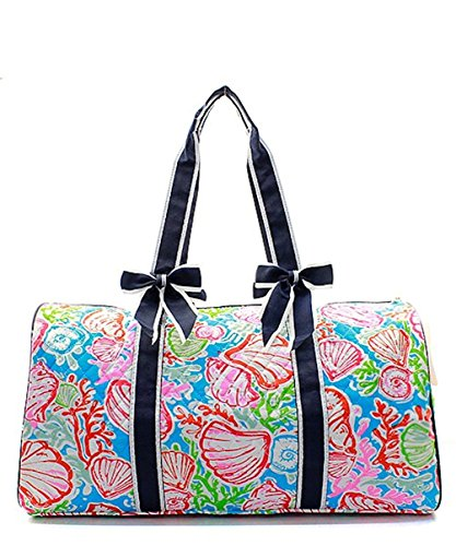 Coral Reef Bag (Quilted Weekend Travel Overnight 20