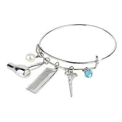 Amazon.com: meiligo moda mujer encanto pulsera de la joyería ...