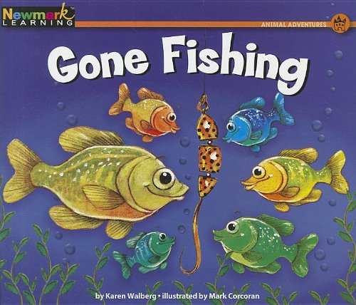 Image of Gone Fishing (Rising Readers: Animal Adventures Levels A-e)