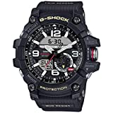 Watches : Casio G-Shock Mudmaster Twin Sensor Mens' Sports Watch (Black)