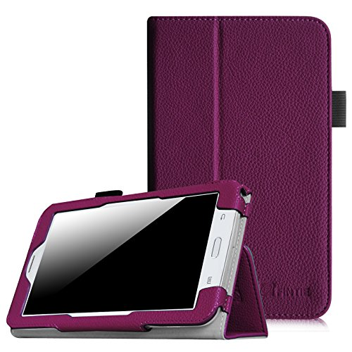 Fintie Samsung Galaxy Tab E Lite 7.0 Case - Slim Fit Folio Stand Leather Cover for Galaxy Tab