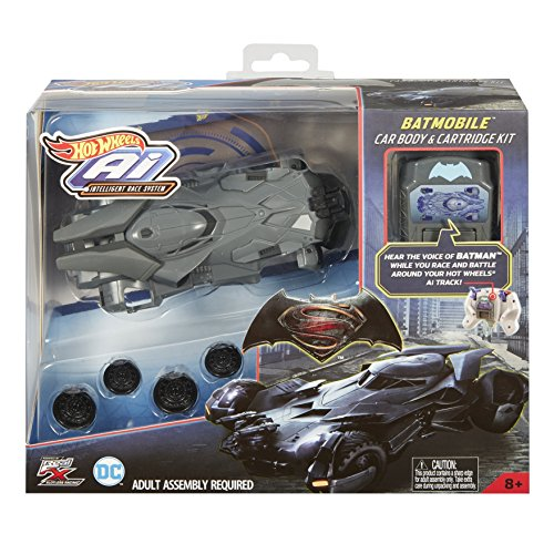 Hot Bodies Car - Hot Wheels AI Racing Batmobile Car Body & Cartridge Kit