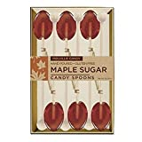 MELVILLE MAPLE SUGAR SPOONS, PACK OF 6