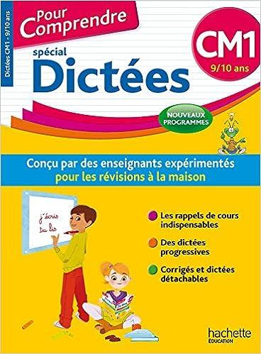 Livres Pour Comprendre Dictées CM1 - Nouveau programme 2016 pdf