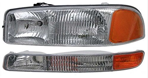 Prime Choice Auto Parts KAPGC61A381A1L 1 Headlight and 1 turn Signal Light