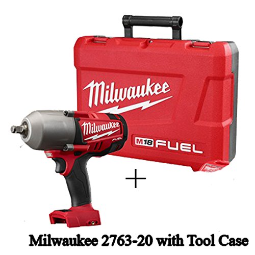 Milwaukee 2763-20 M18 Fuel 1/2- Inch. High Torque Impact Wrench with Friction Ring (Bare Tool) with Tool Case Only
