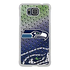 Seattle Seahawks 02 White New Style Custom Samsung Galaxy Alpha Cover Case
