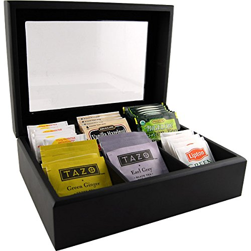 Wooden Tea Bag Chest (Tea Container Box compare prices)