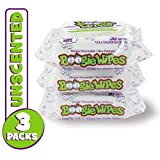 Boogie Wipes, Unscented Wet Wipes for Baby and Kids, Nose, Face, Hand and Body, Soft and Sensitive Tissue Made with Natural Saline, Aloe, Chamomile and Vitamin E, 30 Count (Pack of 3): more info