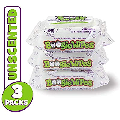 Boogie Wipes Unscented Wet