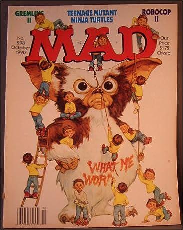 MAD Magazine, October 1990, No.298