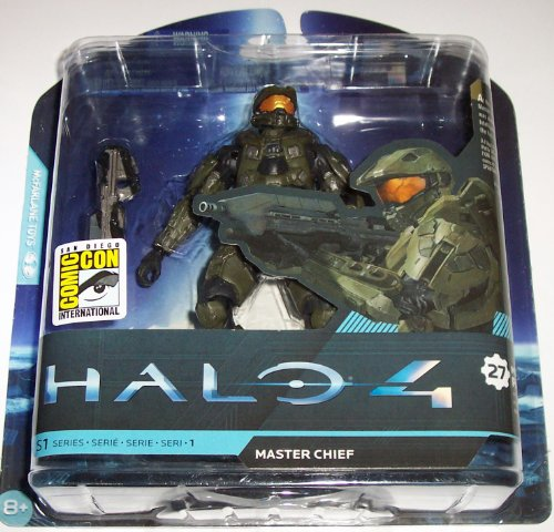 Halo SDCC 2012 San Diego Comic Con Exclusive 4 Master Chief Action Figure