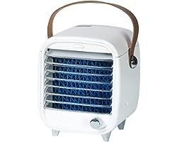 Daseey Mini ventilador de ar condicionado de mesa purificação de ar portátil e umidificador de ar evaporativo sem ruído Mini