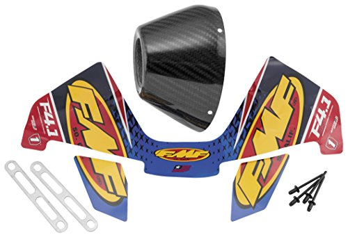 - FMF Racing Dual RCT End Cap Kit - Right - Carbon Fiber 040680