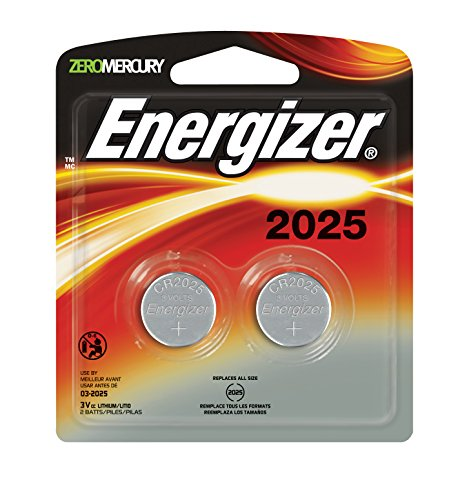 Price comparison product image Energizer Lithium Coin Watch/Electronic Battery 2025, 2-Count