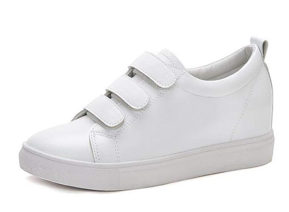 Oudan Platte-Schuhe Flach (Farbe   Weiß, Größe   35)