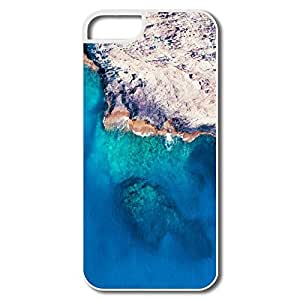 Custom Make Cool Protective Sea Beach Stone IPhone 5/5s Case For Couples