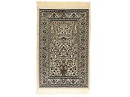 Islamic Prayer Rug Muslim Islam Seccade Namaz Velvet Quality Fabric Sajadah 43\