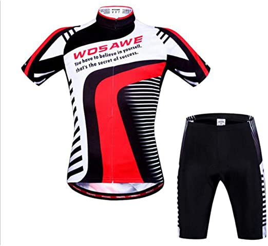 AQWWHY Camisetas de Ciclismo para Hombre, Camisetas de Manga Corta, Camisa de Bicicleta de montaña, Ropa de Bicicleta Reflectante para Ciclistas, Secado rápido: Amazon.es: Jardín