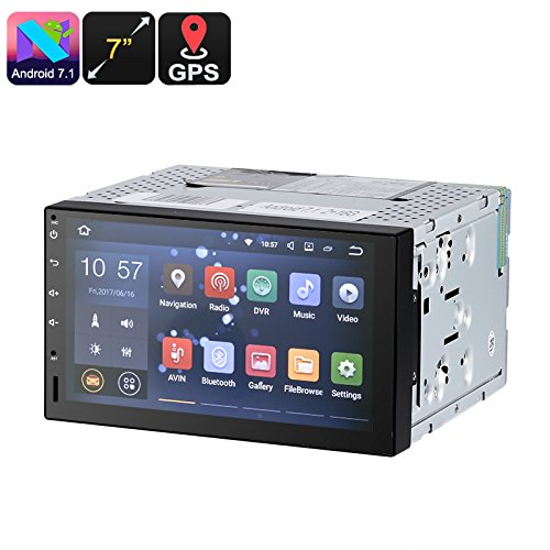 Generic Universal 7 Inch HD 2 DIN Car Stereo (Android 7.1, 4 Core CPU, Android Maps GPS, Bluetooth)