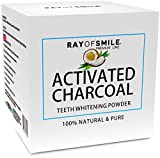 Bleaching Hair At Home Without A Kit - Activated Charcoal Powder 100% Natural and Pure Teeth Whitening by RAY OF SMILE