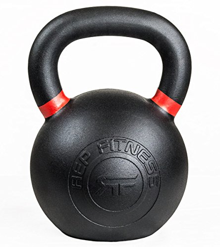 Rep Kettlebells for Strength and Conditioning, Fitness, and Cross-Training - LB and KG Markings - Kettlebell Available