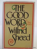The Good Word, Wilfrid Sheed, 0525115927
