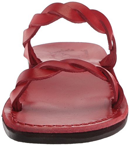 Jerusalem Sandal Red Slide Sandals Joanna Women's UT7U6r