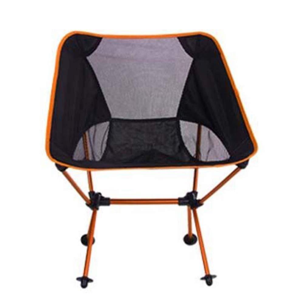 FUBULECY Aluminiumlegierung Außen Klappstuhl, Aluminiumlegierung FUBULECY beweglicher Fischen-Stuhl, Berg Camping-Stuhl Freizeit-Stuhl 4319de
