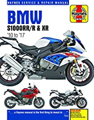 Each Haynes manual provides specific and detailed instructions for performing everything from basic maintenance and troubleshooting to a complete overhaul of the machine, in this case the BMW S1000, model years 2010 through 2017. Do-it...