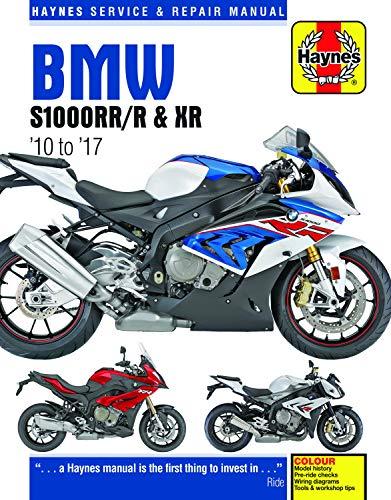 BMW S1000, '10-'17: S1000RR ('10-'17), S1000R ('14-'17), S1000XR ('15-'17) (Does not include the HP4 model) (Haynes Powersport)