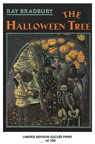 Lost Posters Rare Poster Thick The Halloween Tree Vintage 1972 Book Cover Reprint #'d/100!! 12x18