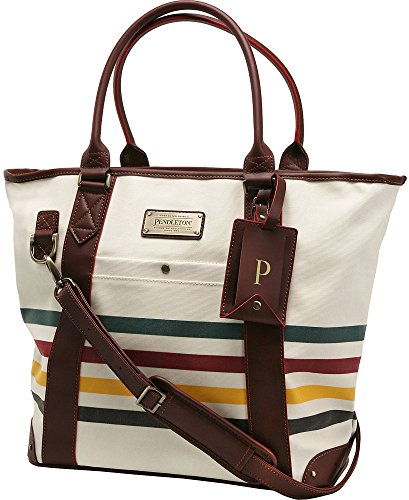 Pendleton Luggage Glacier National Park 20'' Travel Tote (Ivory White) by Pendleton