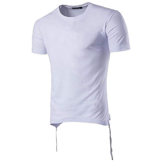 HUI Camisa t-Shirt tee Tops Blusa Hombre Personalizada Casual Manga Corta,