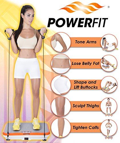 Power Fit Platform Fitness Plate - Full Body Vibration ...