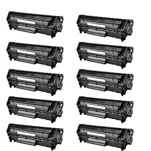 10 Pack Canon 104/FX9 Compatible Toner Cartridge for use ...