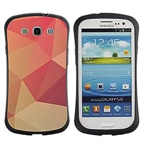 "Pulsar iFace Series Tpu silicona Carcasa Funda Case para SAMSUNG Galaxy S3 III / i9300 / i747 , Peach Lollipop Modelo del papel pintado"""