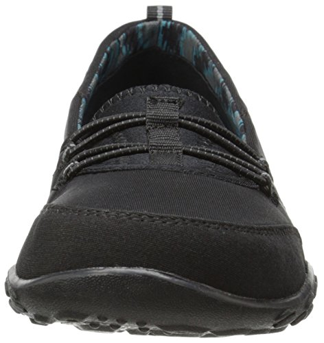 Skechers Sport Five Star zapatilla de deporte de moda Black Mesh/Charcoal Trim