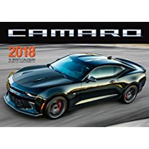 Camaro 2018: 16 Month Calendar Includes September 2017 Through December 2018
