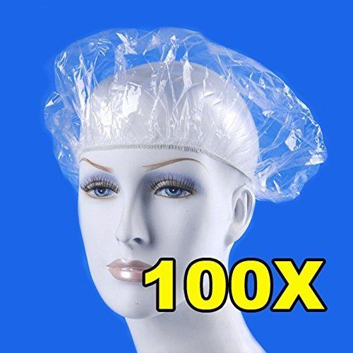 Shower Cap Shower Cap For Women - 100pcs/pack Disposable Hat