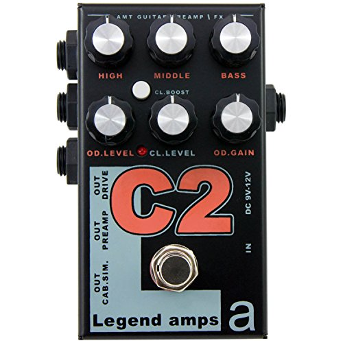 AMT Electronics Legend Amp Series II C2 Conford Preamp/Distortion Pedal by AMT Electronics