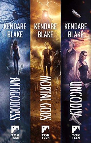 dabab7bd3208c The Goddess War Trilogy: (Antigoddess, Mortal Gods, Ungodly) by [Blake
