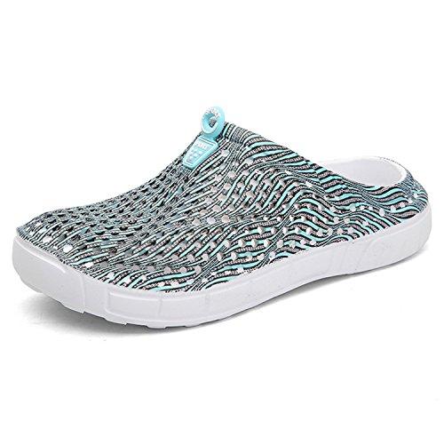 Clog Garden BARKOR Mens Shoes Women's Beach Walking Summer Sandals Shoes Mesh Blue4 Drying Quick qttfSHE