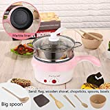 Fiesta GXYAYYBBmulti-Functional Mini Electric Cooker, Electric Frying pan and Noodle Cooker for Dormitory of Electric Frying pan People: Upgraded Version