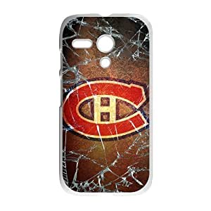 Icasepersonalized Personalized Protective,NHL Montreal Canadiens Custom Case for Motorola G