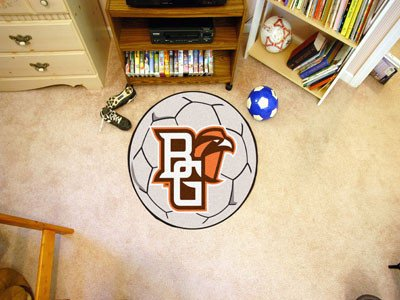 Bowling Green Soccer Ball Mat 27 Diameter - Licensed Bowling Green State Falcons Gifts - Diameter Bowling Ball