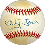Whitey Ford Autographed Baseball - Autographed